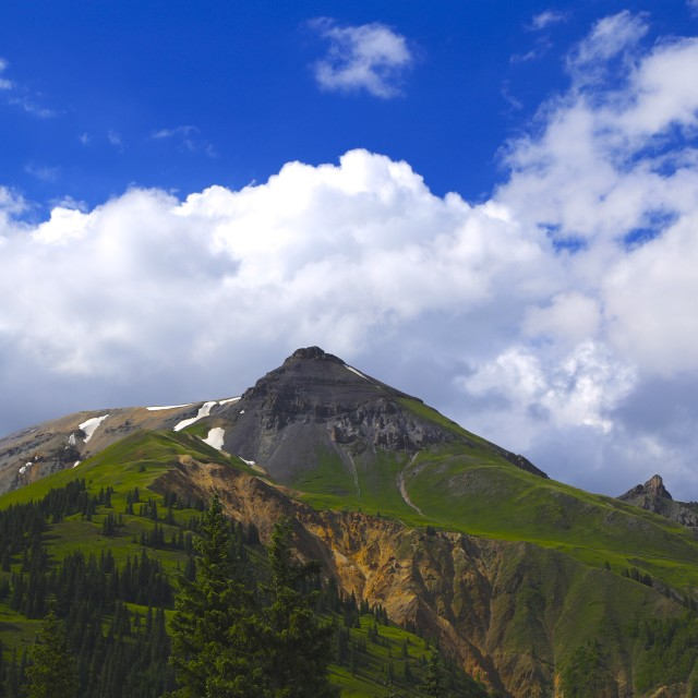"""San Juan Mountains"" stock image"