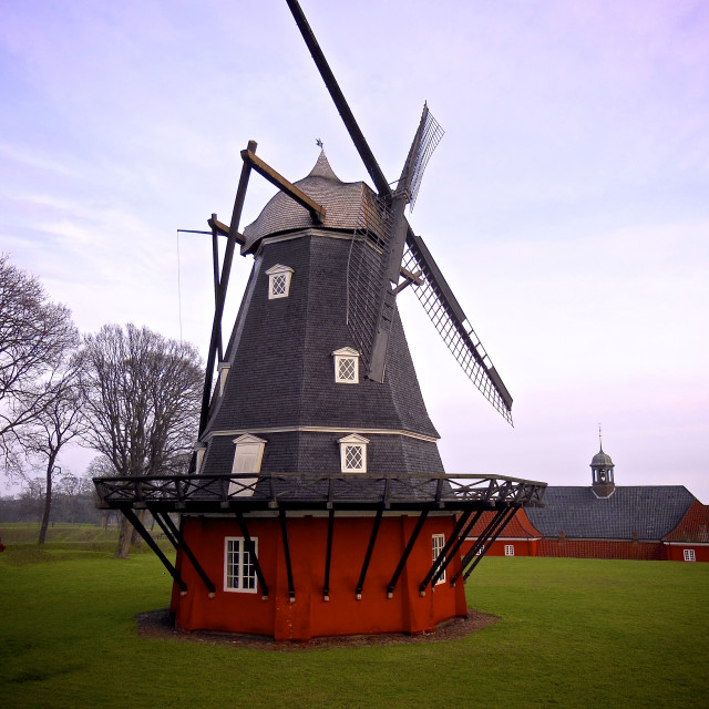 """""""Nordic Wind Mill"""" stock image"""