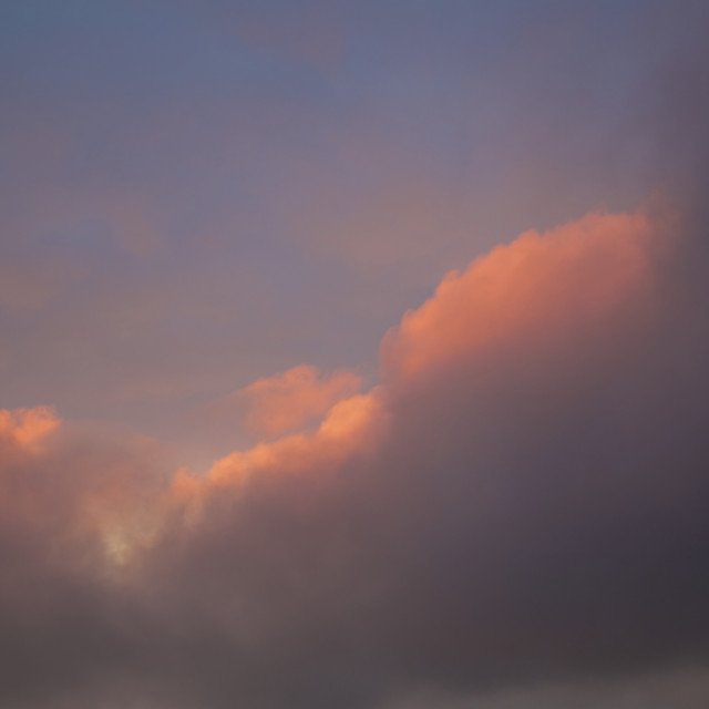 """""""Fiery Clouds"""" stock image"""