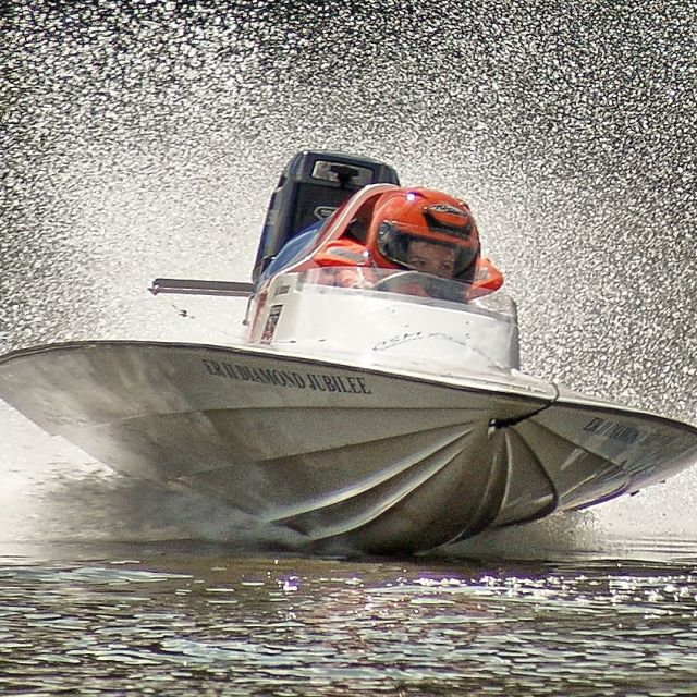 """Power Boat"" stock image"
