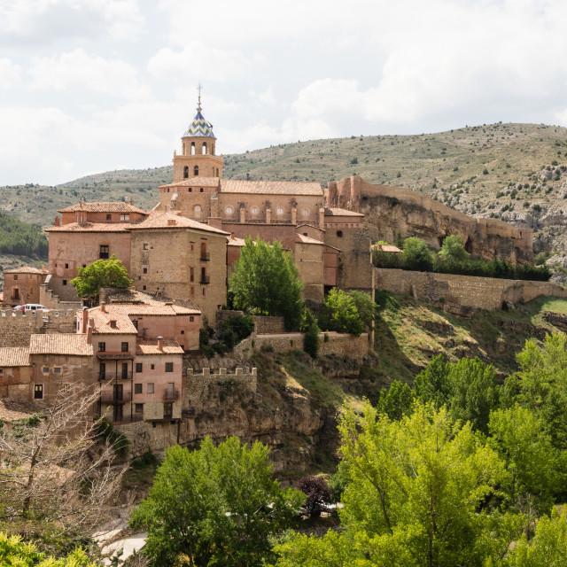 """Albarracin, Spain"" stock image"