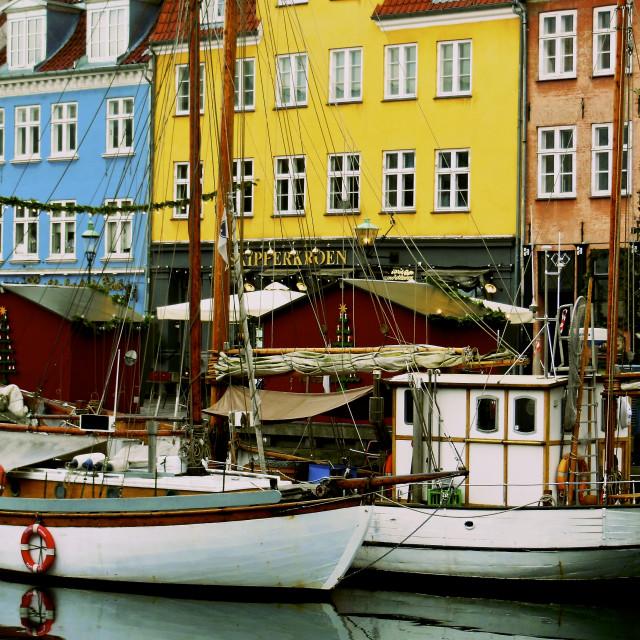 """Copenhagen's Colours"" stock image"