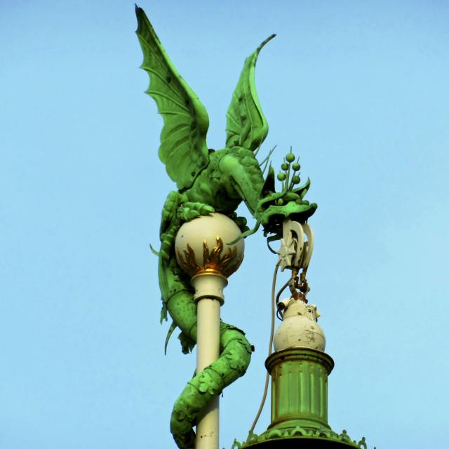 """Urban Dragon"" stock image"