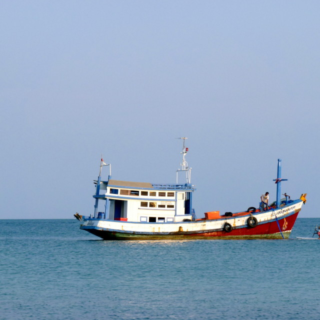 """""""Boat in Thailand"""" stock image"""