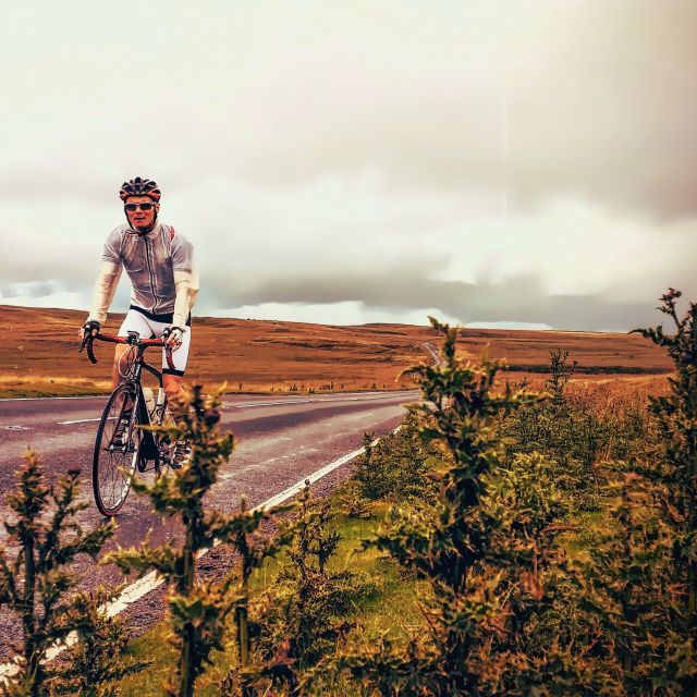"""""""Brecon Beacons By Bike (1)"""" stock image"""