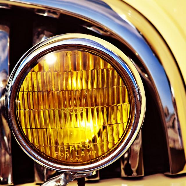 """Buick Fog Lamp"" stock image"