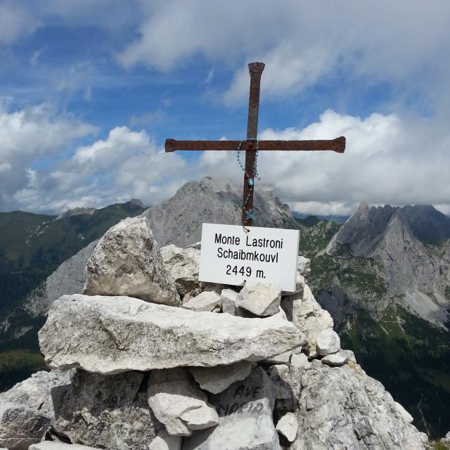 """Monte Lastroni"" stock image"