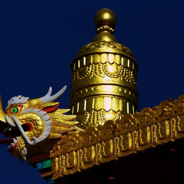 """""""Tibetan Spirit"""" stock image"""