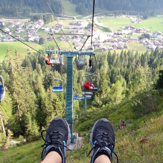 """""""Chairlift"""" stock image"""