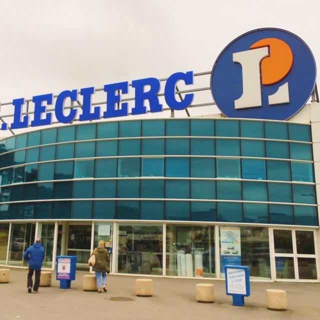 """E. Leclerc"" stock image"