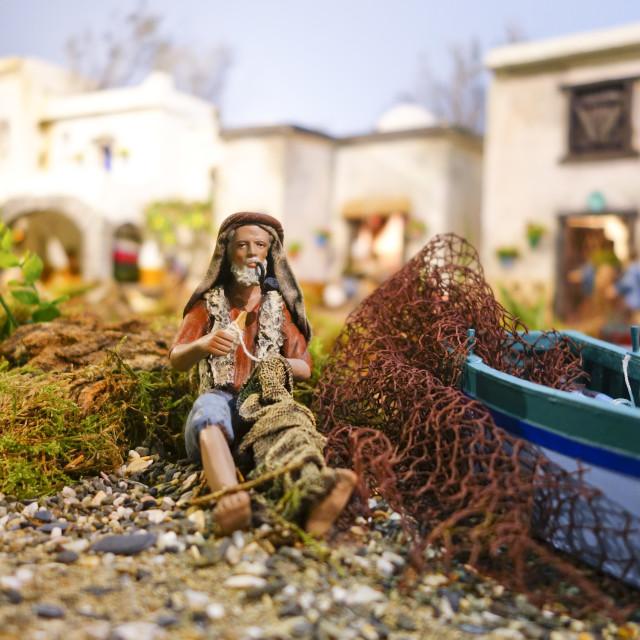 """""""Nativity Scene"""" stock image"""