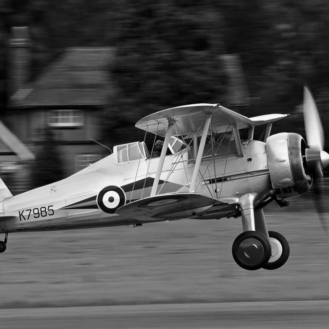 """Gloster Gladiator 1938"" stock image"