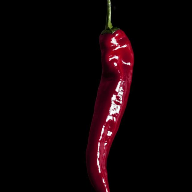 """Chili pepper"" stock image"
