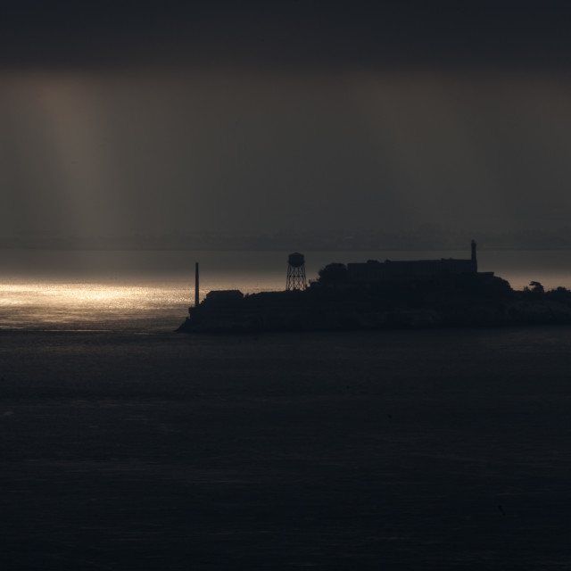 """Alcatraz"" stock image"