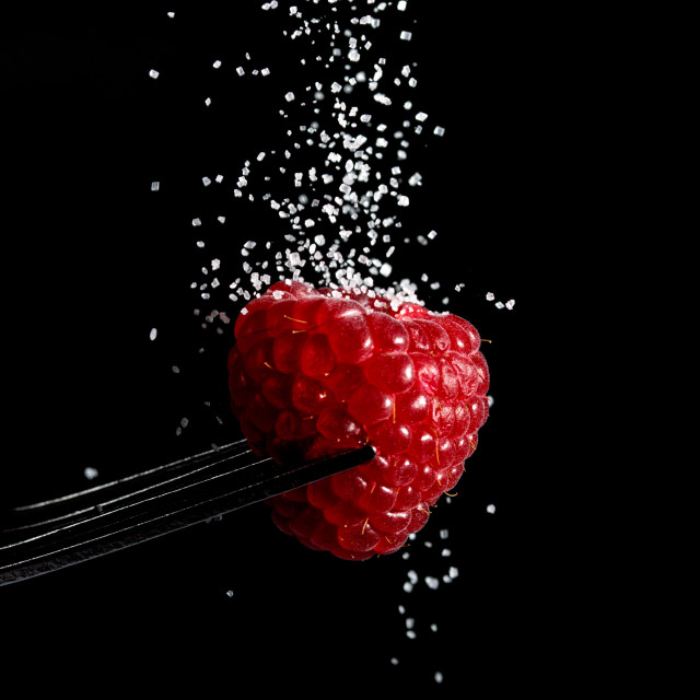 """Raspberry Sugar"" stock image"