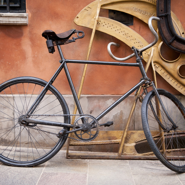 """decorative old cycle"" stock image"