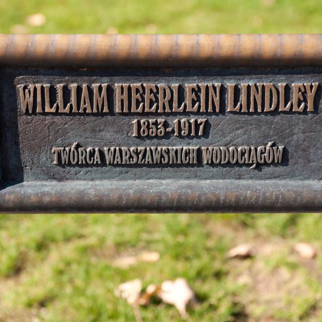"""William Heerlein Lindey slab"" stock image"