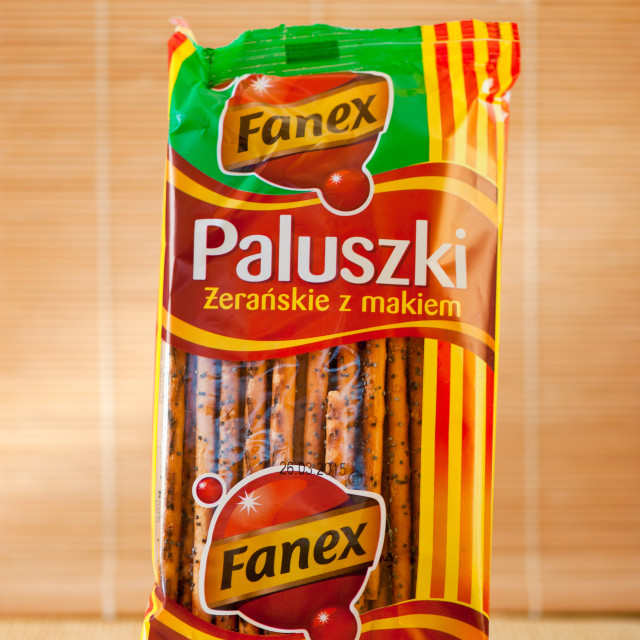 """Polish sticks with poppy"" stock image"