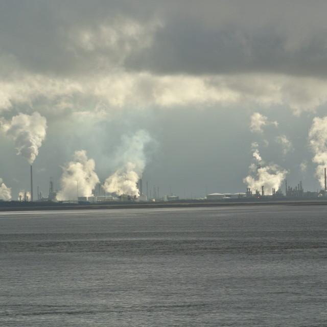 """River Mersey"" stock image"
