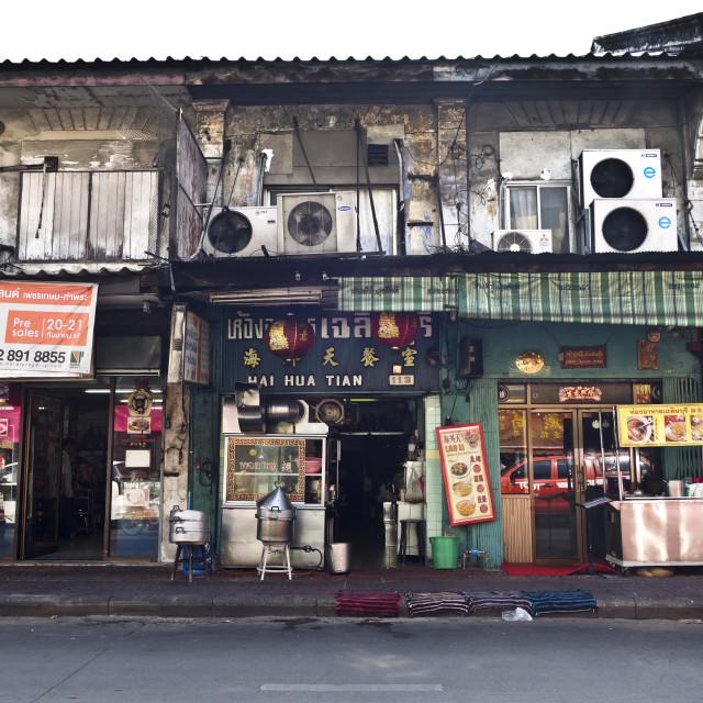 """Chinatown Bangkok"" stock image"