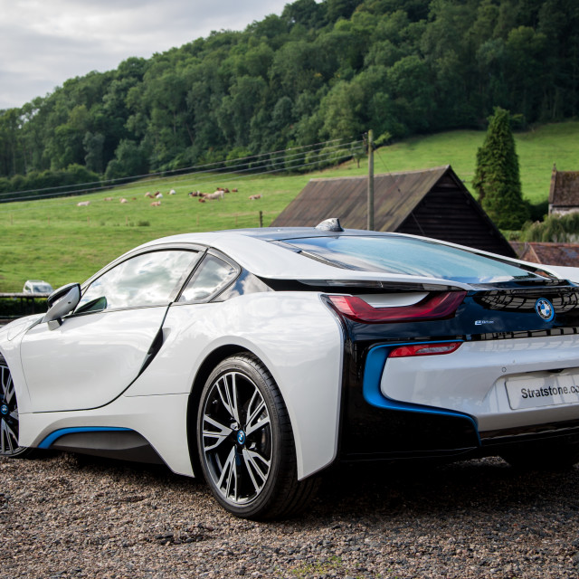 """BMW i8"" stock image"