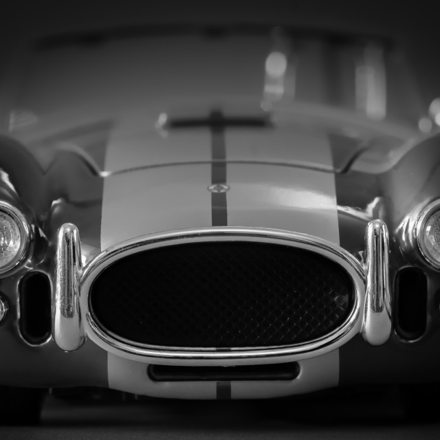 """Shelby Cobra"" stock image"