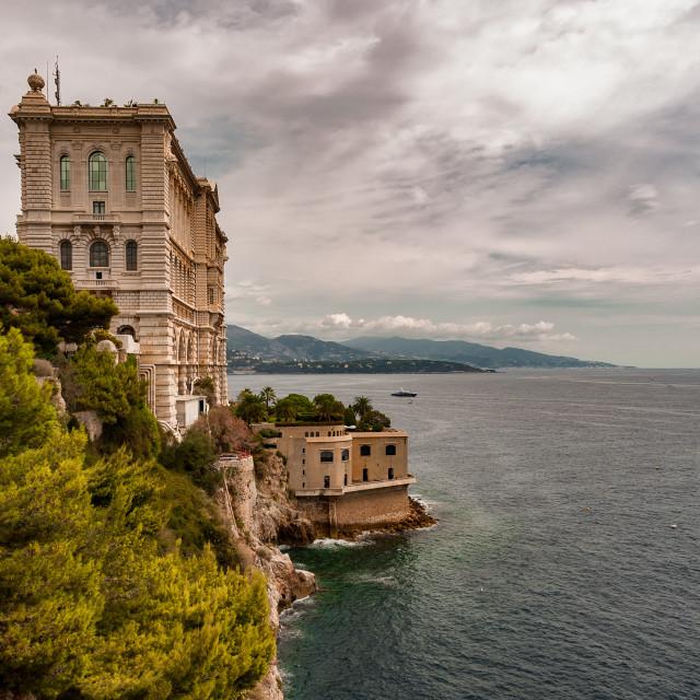 """""""Musée Océanographique de Monaco"""" stock image"""
