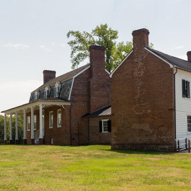 """""""Thomas Stone house Port Tobacco Maryland"""" stock image"""