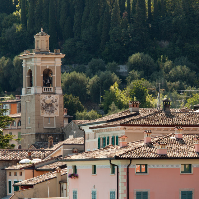 """""""Church in Maderno"""" stock image"""