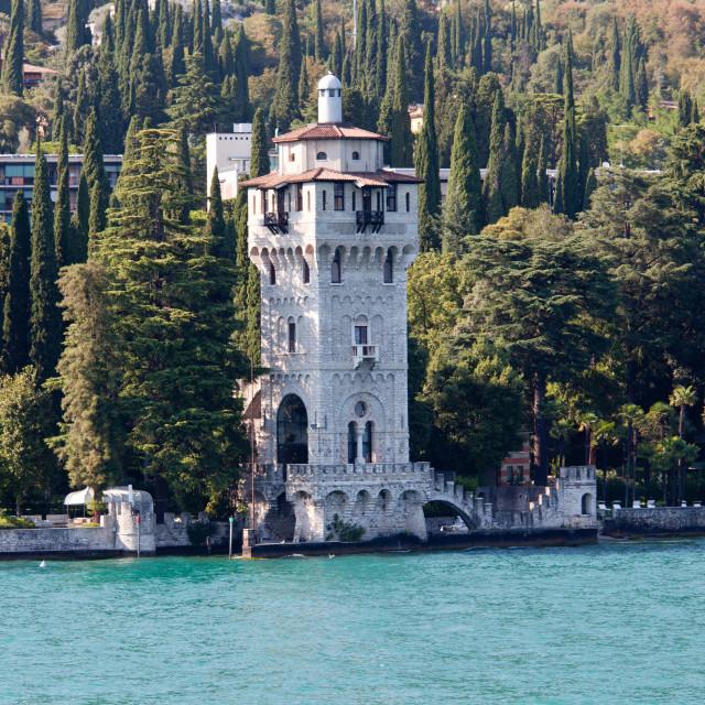 """""""Tower of Gardone"""" stock image"""