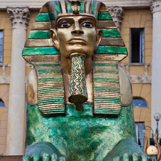 """Sphinx in Verona"" stock image"