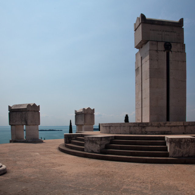 """Annunzio monument"" stock image"