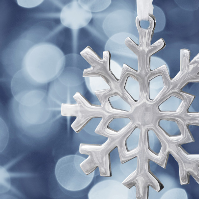 """Snowflake decoration"" stock image"