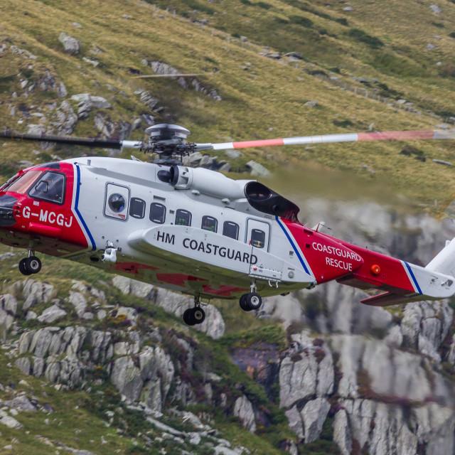 """Coastguard Sikorsky S92"" stock image"
