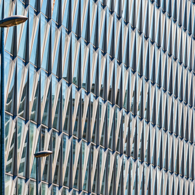"""Office Building Facade"" stock image"