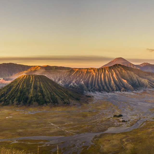 """Yellow Mount Bromo"" stock image"