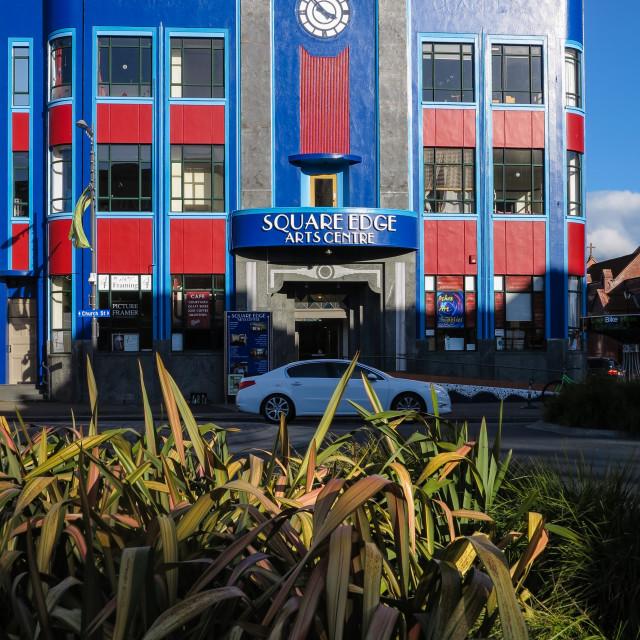 """""""Art Deco Arts Centre"""" stock image"""