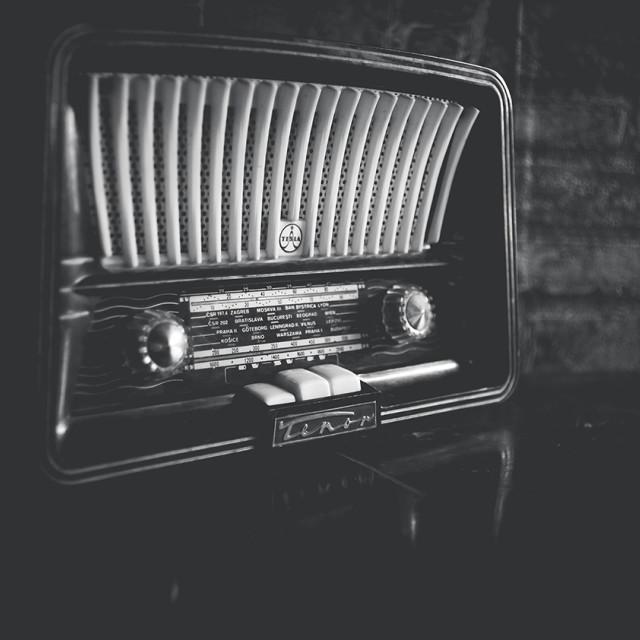 """Old Radio Tesla"" stock image"