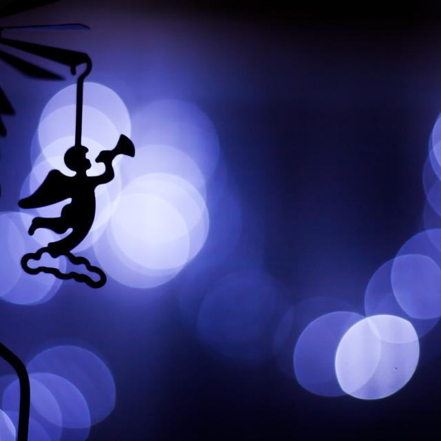 """""""Christmas time angel"""" stock image"""