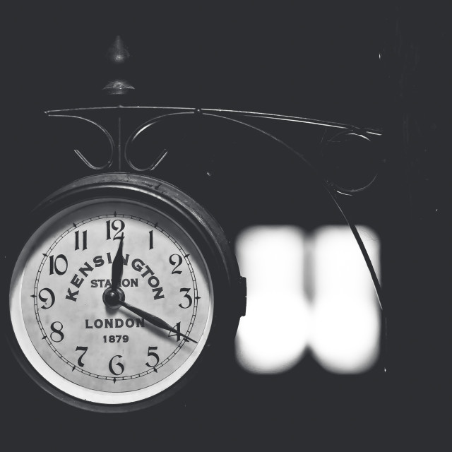 """""""Keningston Time"""" stock image"""