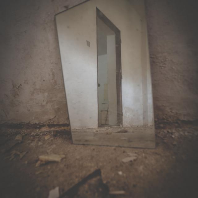 """""""Mirror"""" stock image"""