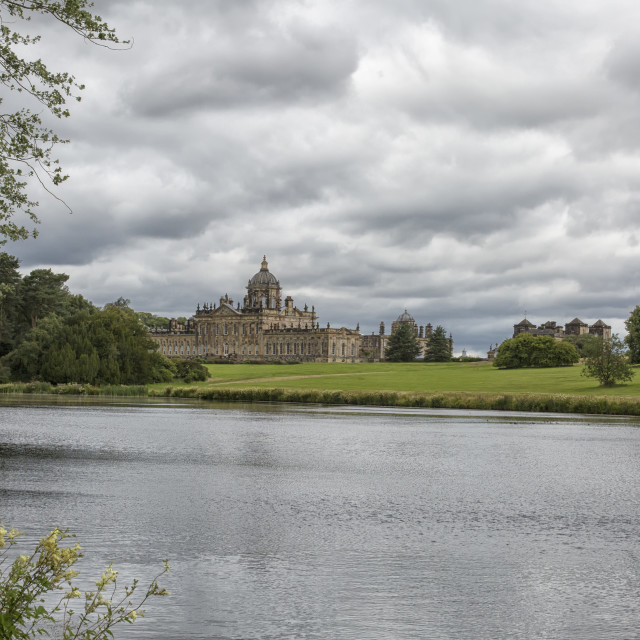 """View on Castle Howard"" stock image"