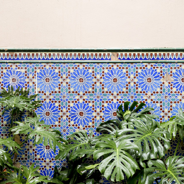 """Moorish style tiling"" stock image"