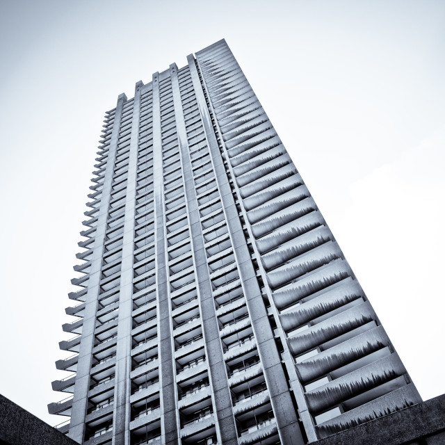 """The Barbican"" stock image"