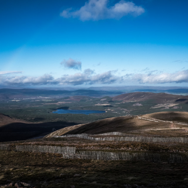 """Cairngorm mountains"" stock image"
