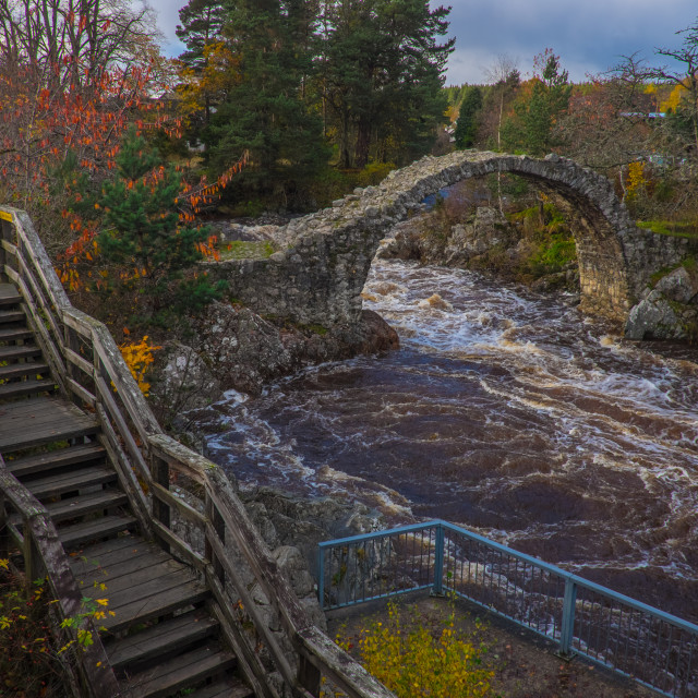 """Carrbridge"" stock image"