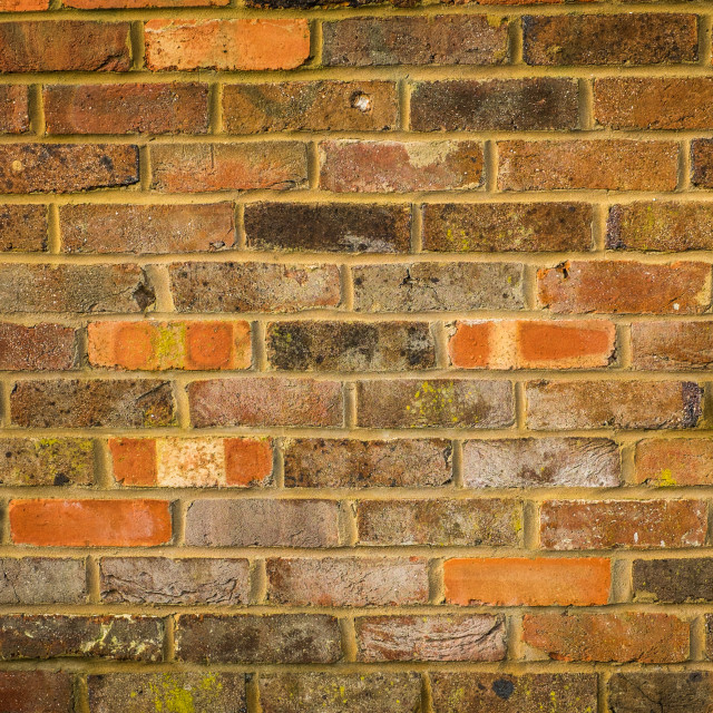 """Brick wall #4"" stock image"