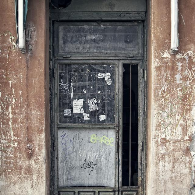 """""""Old door"""" stock image"""