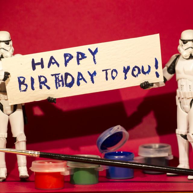 """""""Happy Birthday!"""" stock image"""