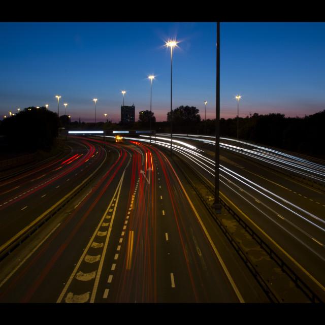"""""""Rush hour"""" stock image"""